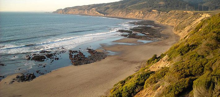 Bolinas coast line